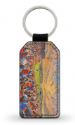 somerset park  PU Leather Keyring Printed Both Sides